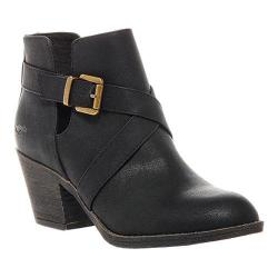 Women's Rocket Dog Sasha Bootie Black PU