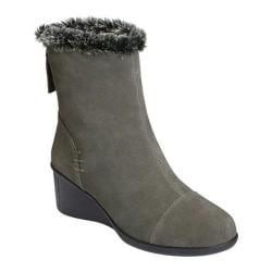 Women's Aerosoles Bravery Ankle Boot Grey Suede
