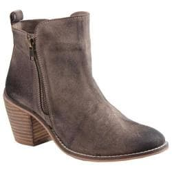 Women's Diba True Java Time Ankle Boot Beige Suede