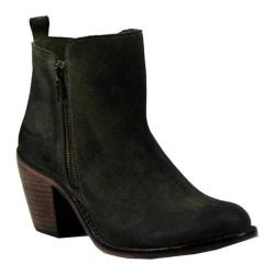 Women's Diba True Java Time Ankle Boot Olive Suede