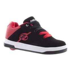 Girls' Heelys Split Black/White/Red