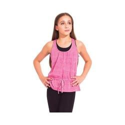 Girls' Capezio Dance Darina Tank Top Pink Sugar Lace