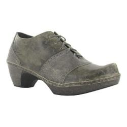 Women's Naot Besalu Oxford Grey Shimmer Leather/Vintage Grey Leather