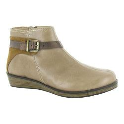 Women's Naot Cozy Ankle Boot Arizona Tan/Desert Suede/Copper Leather/Suede