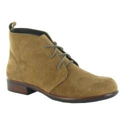 Women's Naot Levanto Lace Up Ankle Boot Desert Suede