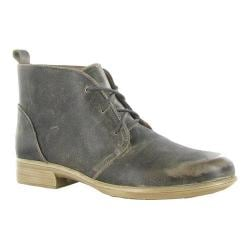 Women's Naot Levanto Lace Up Ankle Boot Vintage Grey Leather