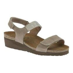Women's Naot Lisa Khaki Beige Leather