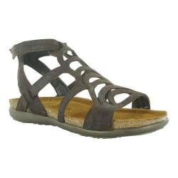 Women's Naot Sara Mine Brown Leather