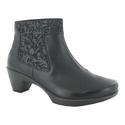 Women's Naot Stunning Ankle Boot Black Raven Leather/Nubuck