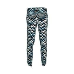Women's tasc Performance Bayou Booty Crop Tight Tribal Angles Marlin Monsoon