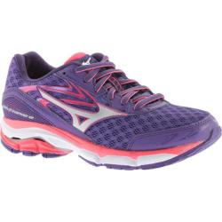 Women's Mizuno Wave Inspire 12 Running Shoe Royal Purple/Silver/Diva Pink