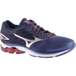 Men's Mizuno Wave Rider 20 Running Shoe Blue Depths/Silver