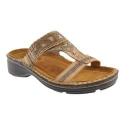 Women's Naot Oleander Biscuit Leather/Brass Leather