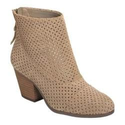 Women's Aerosoles Vital-Sign Ankle Bootie Mink Suede