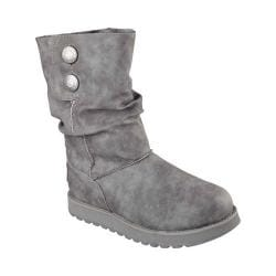 Women's Skechers Keepsakes Leatherette Mid Calf Boot Charcoal