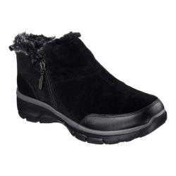 Women's Skechers Relaxed Fit Easy Going Zip It Cold Weather Bootie Black