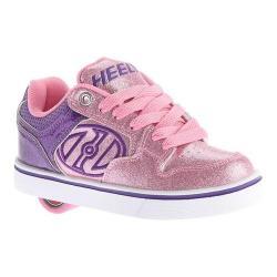 Children's Heelys Motion Plus Roller Shoe Purple/Pink/Glitter