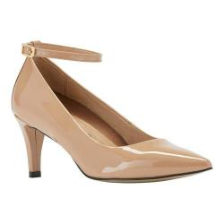 Women's Walking Cradles Sideline Pump Nude Patent Leather 21860743