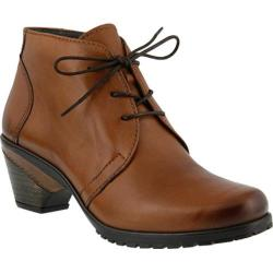 Women's Spring Step Efisio Bootie Brown Leather 21892597