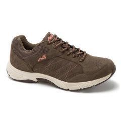Women's Avia Avi-Journey Walking Shoe Chocolate Chip/Soft Coral/Snowline Ecru