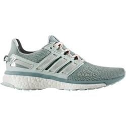 Women's adidas Energy Boost 3 Running Shoe Vapor Green/Chalk White/Vapor Steel