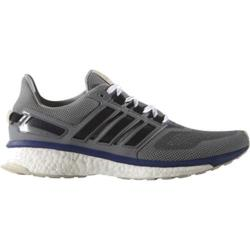 Men's adidas Energy Boost 3 Running Shoe Mid Grey Heather/Unity Ink/Vapor Green
