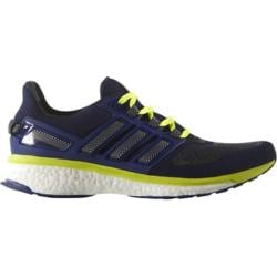 Men's adidas Energy Boost 3 Running Shoe Unity Ink/White/Solar Yellow