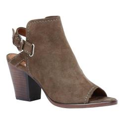 Women's Frye Dani Shield Open-Toe Bootie Dark Taupe