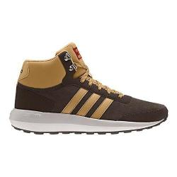Men's adidas NEO Cloudfoam Race WTR Mid Sneaker Dark Brown/Mesa/Pearl Grey