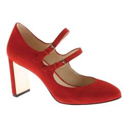 Women's Nine West Academy Mary Jane Red Suede