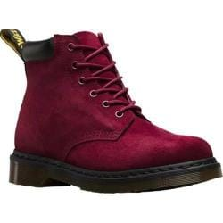 Dr. Martens Saxon 939 6-Eye Padded Collar Boot Wine Soft Buck