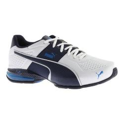 Men's PUMA Cell Surin 2 FM Sneaker Puma White/Peacoat/Electric Blue Lemonade
