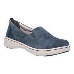 Women's Dansko Belle Slip-On Sneaker Navy Suede