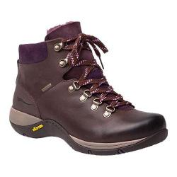 Women's Dansko Chelsey Lace Up Boot Brown Burnished Nubuck