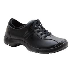 Women's Dansko Elise Black/Black Leather