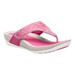 Women's Dansko Katy 2 Thong Sandal Berry Washed Leather