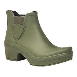 Women's Dansko Rosa Chelsea Boot Green Rubber