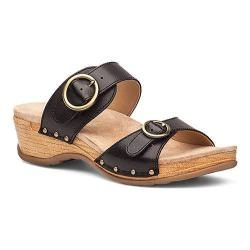 Women's Dansko Manda Sandal Black Full Grain Leather