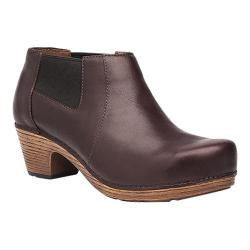 Women's Dansko Marilyn Chelsea Boot Chocolate Pull Up