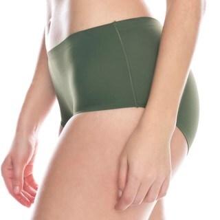 Prestige Biatta Women's Olive Green Laser-cut Bikini