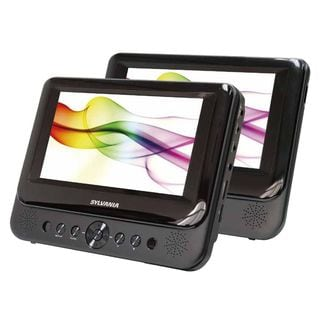 Sylvania SDVD9957 Portable DVD Player with Dual 9-inch Screen