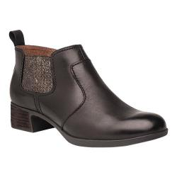 Women's Dansko Lola Chelsea Boot Black Antiqued Calf