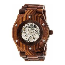 Men's Earth Watches Grand Mesa Automatic Watch Red Wood/Red