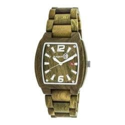 Men's Earth Watches Sagano Quartz Watch Olive Wood/Olive 22173402