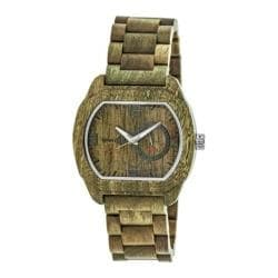 Men's Earth Watches Scaly Quartz Watch Olive Wood/Olive 22173405