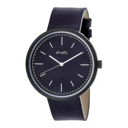 Men's Simplify The 3000 Quartz Watch Plum Leather/Plum