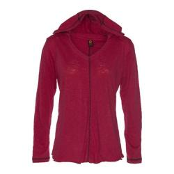 Women's Ojai Clothing Relaxed Hoody Earthy Red