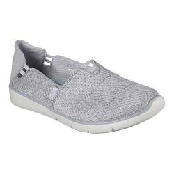 Women's Skechers BOBS Pureflex 2 Air Space Slip-On Gray