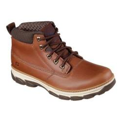 Men's Skechers Relaxed Fit Resment Alento Boot Tan