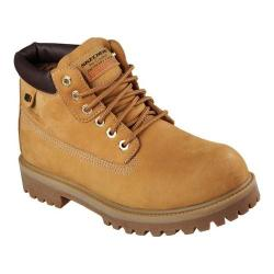 Men's Skechers Sergeants Verdict Rugged Ankle Boot Wheat